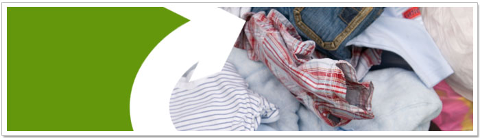Help the environment and recycle clothes