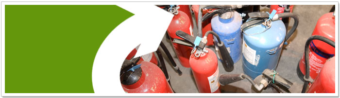 Re-use & recycle your fire extinguisher