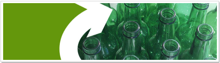 Glass can be recycled