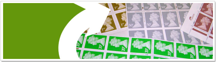 Picture of postage stamps
